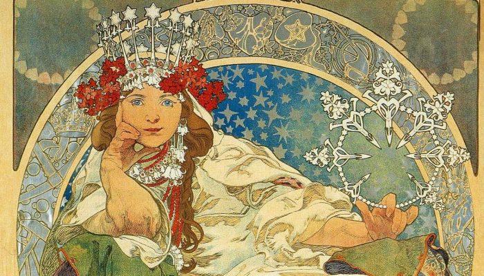 Mucha, maestro dell'Art Nouveau